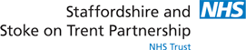 Staffordshire and Stoke NHS Partnership Logo